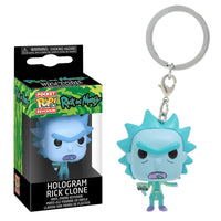 Rick and Morty - Llavero Funko Pop de Rick Holograma