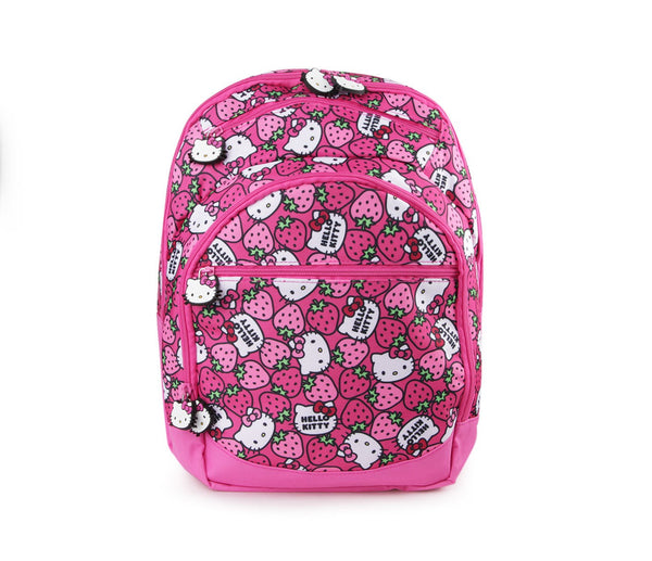 Sanrio - Mochila 38cm Hello Kitty Kids Strawberry-Sanrio-Monono-Peru