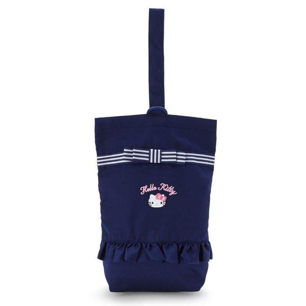 Sanrio - Bolso para Zapatos Hello Kitty Navy Ribbon