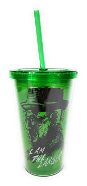 Breaking Bad - Vaso Tumbler con Cañita de Heisenberg-Breaking Bad-Monono-Peru