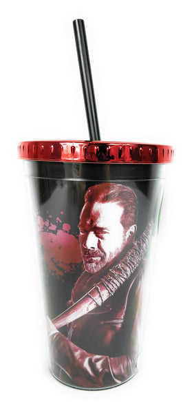 The Walking Dead - Vaso Tumbler con Cañita de Negan-The Walking Dead-Monono-Peru