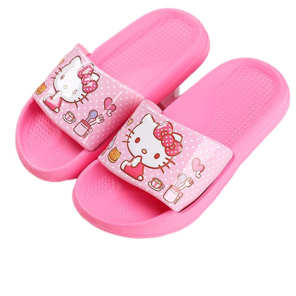 Sanrio - Sandalias para Adultos de Hello Kitty Light Pink Talla 37 a 39
