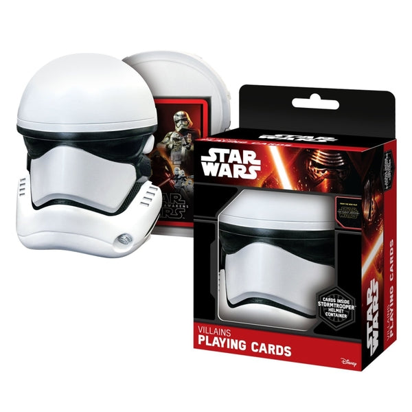 Star Wars - Set De Cartas Con Estuche Stormtrooper
