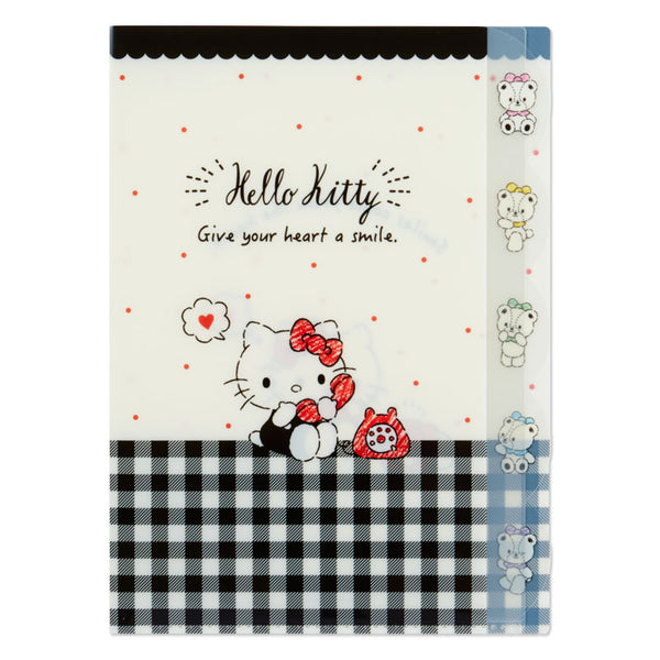 Sanrio - Folder Clear Index Hello Kitty