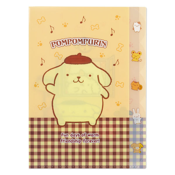 mononoperu,Sanrio - Folder Clear Index Pom Pom Purin,Sanrio,.
