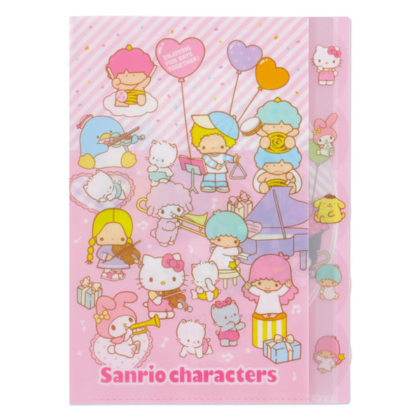 Sanrio - Folder Clear Index Sanrio Characters