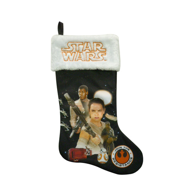 Star Wars - Media Navideña Force Awakens 50cm Rey Finn-Star Wars-Monono-Peru