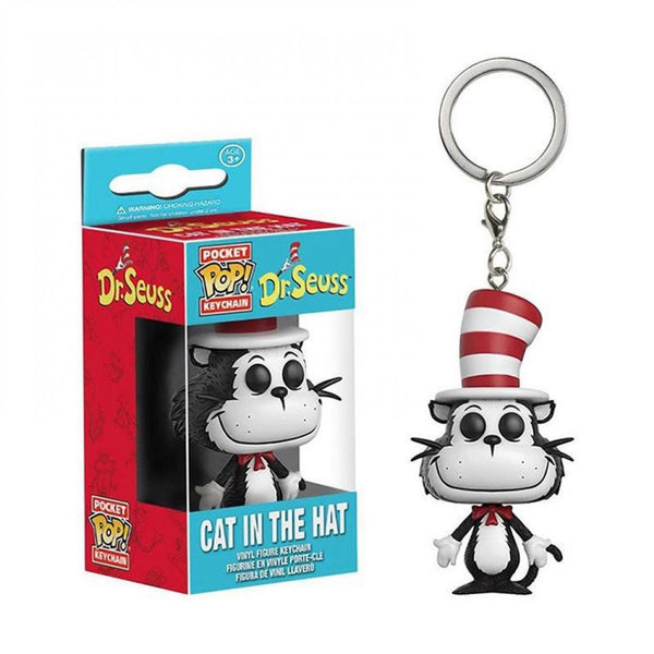 Dr Seuss - Llavero Funko de Cat in the Hat-Dr Seuss-Monono-Peru