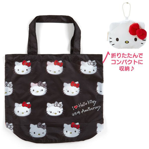 Sanrio - Bolso Plegable Hello Kitty Shopping Bag 45th Anniversary