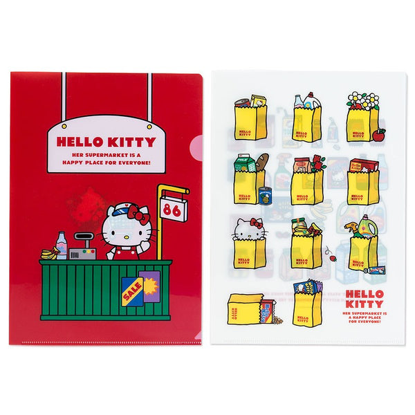 Sanrio - Duo de Folders Compras de Hello Kitty - Monono Perú