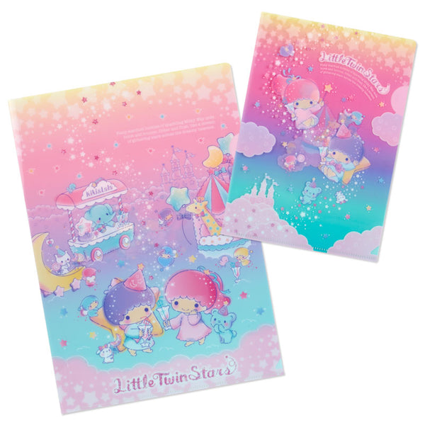 mononoperu,Sanrio - Duo de Folders Little Twin Stars Milkyway,Sanrio,.