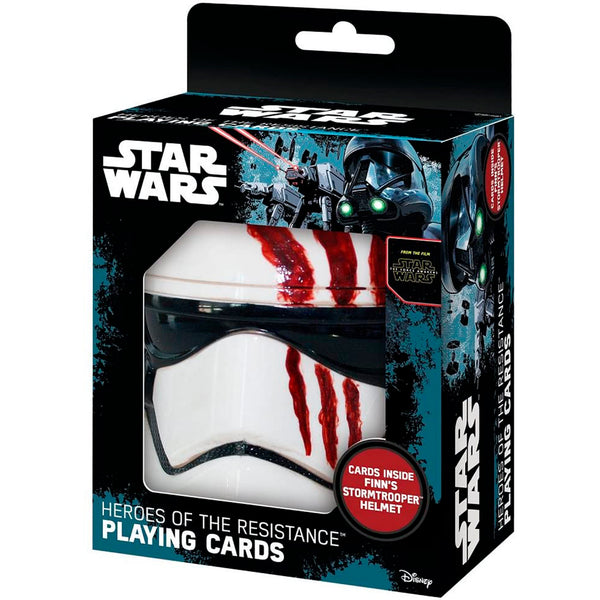 Star Wars - Set De Cartas Naipes Con Estuche Heroes of the Resistance