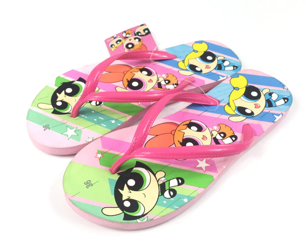 Cartoon Network - Sandalias de las Chicas Superpoderosas Talla 36-Cartoon Network-Monono-Peru