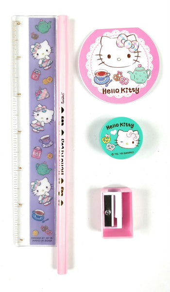 Sanrio - Set De Escritorio Hello Kitty Tea Time - Monono Perú