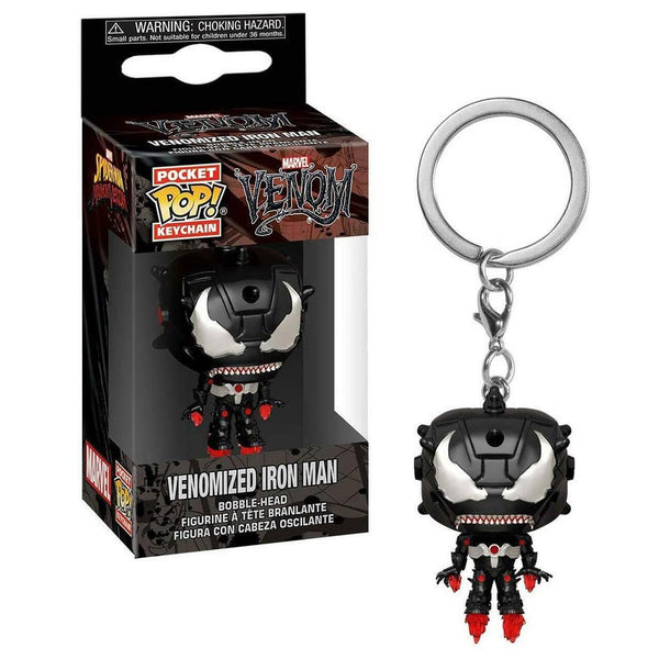 Marvel - Llavero Funko Pop de Iron Man Venomized
