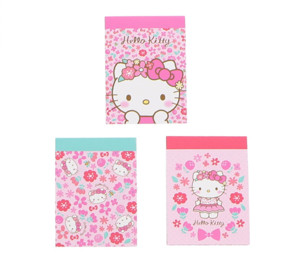 Sanrio - Block de Notas Hello Kitty Crown Flower - Monono Perú