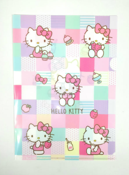 Sanrio - Folder A4 Hello Kitty Pastel - Monono Perú