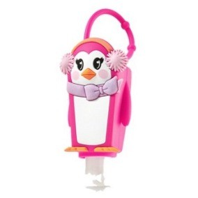 Bath & Body Works - Holder Pinguina incluye Gel - Monono Perú