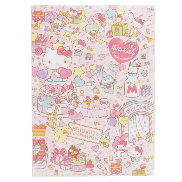 Sanrio - Folder Hello Kitty Pink 45th Anniversary - Monono Perú