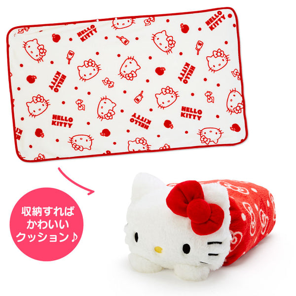 Sanrio - Manta con Estuche Hello Kitty Faces