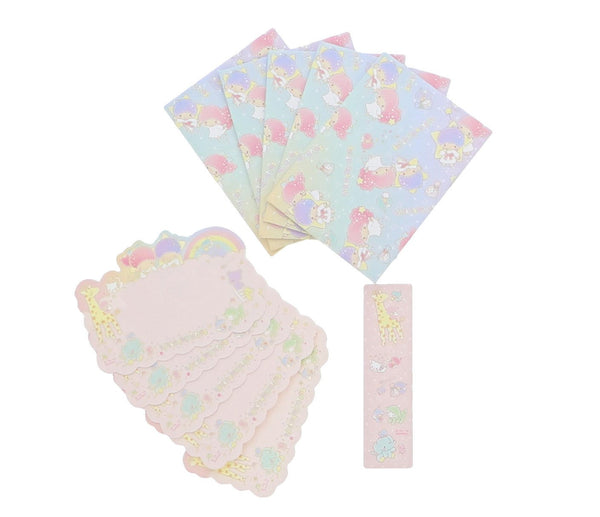 Sanrio - Set de Papel Carta Message Little Twin Stars-Sanrio-Monono-Peru