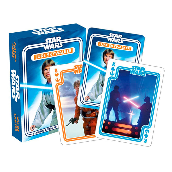 Star Wars - Cartas Naipes de Luke Skywalker