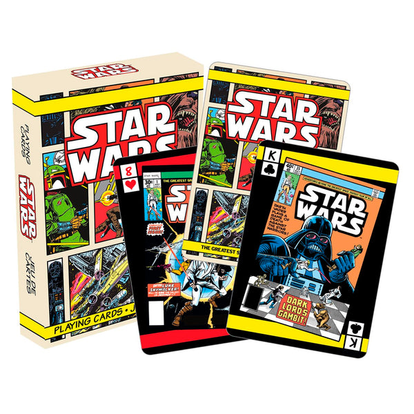 mononoperu,Star Wars - Cartas Naipes de Comic Books,Monono,.