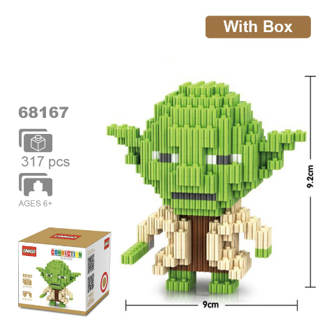 Star Wars - Bloques Armables Linkgo Yoda
