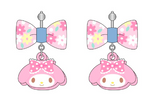 Sanrio - Aretes My Melody Denim