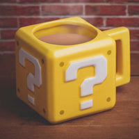 Nintendo - Taza Mug Super Mario Question Block-Nintendo-Monono-Peru