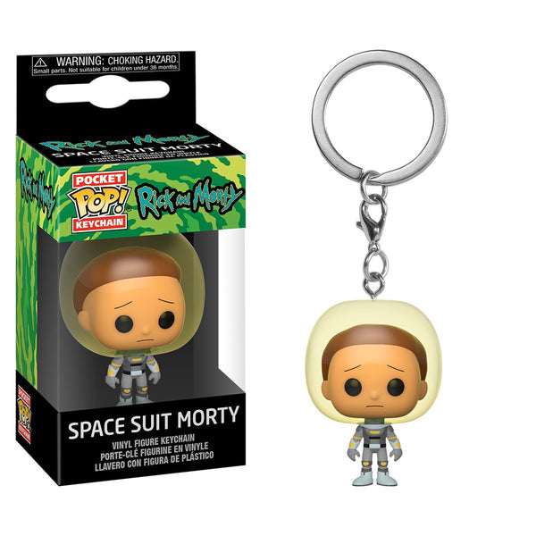 Rick and Morty - Llavero Funko Pop de Morty Space Suit