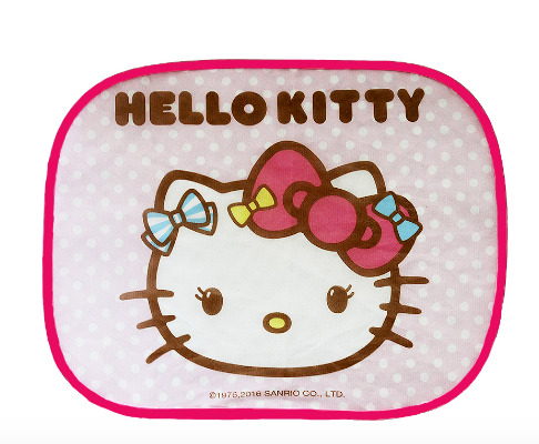 mononoperu,Sanrio - Set de 2 Tapasoles Laterales Hello Kitty Colorful Ribbons,Sanrio,