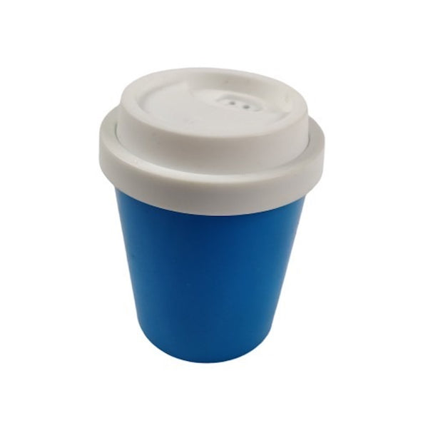 Dispensador de Palitos de Dientes Coffe Cup Azul