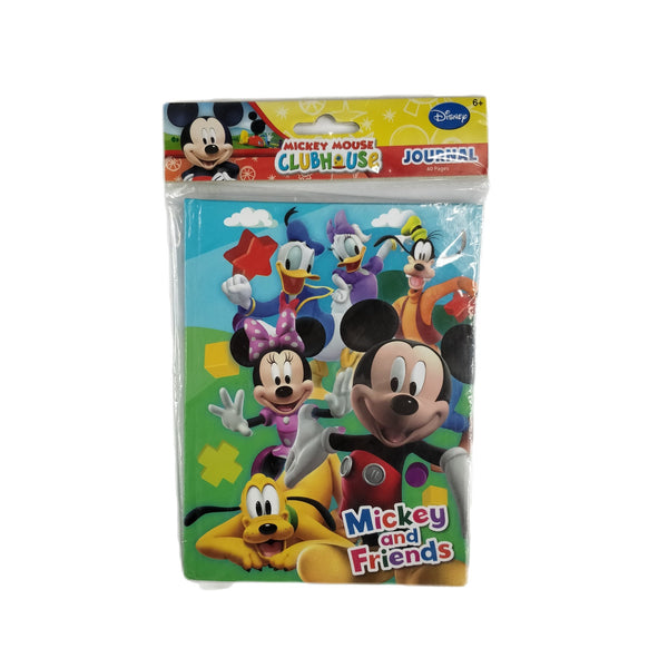Disney - Block de Notas Journal de Mickey Mouse 40 Hojas