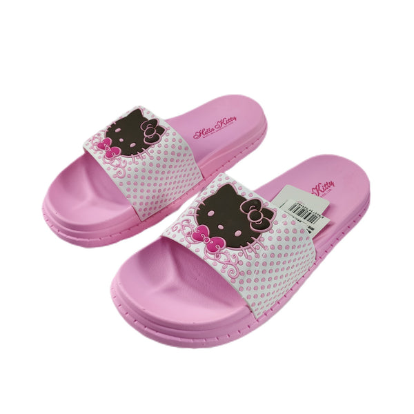 Sanrio - Sandallias de Hello Kitty Total Pink