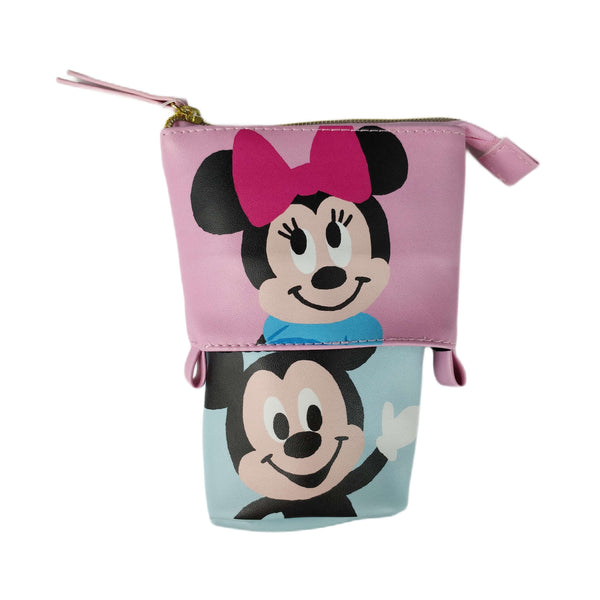 Disney - Cartuchera Porta Lapiceros Mickey & Minnie Mouse