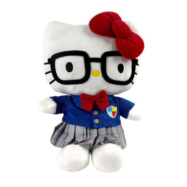 Sanrio - Peluche de 30 cm. Hello Kitty Geek