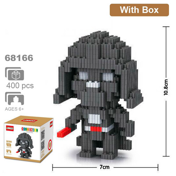Star Wars - Bloques Armables Linkgo Darth Vader