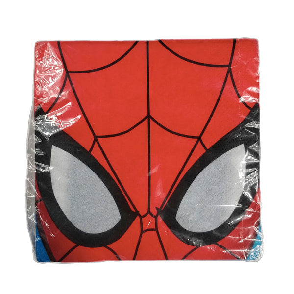 Marvel - Pack de 16 Servilletas de Spiderman