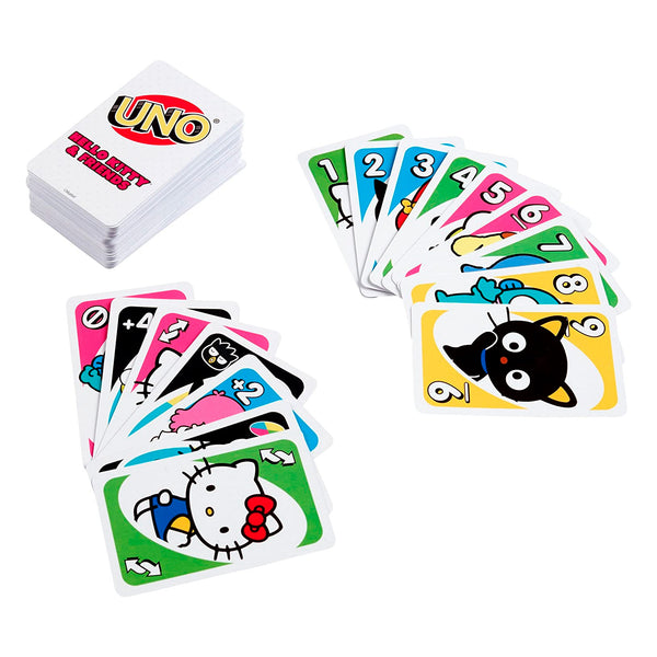 Sanrio - Juego de Cartas UNO de Hello Kitty and Friends