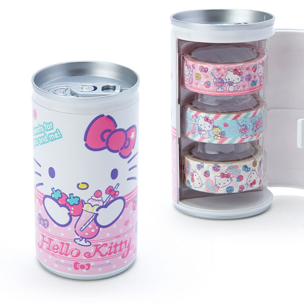 Sanrio - Set de Cintas Adhesivas Hello Kitty Soda