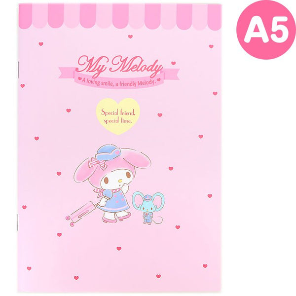 Sanrio - Cuaderno A5 My Melody Travel