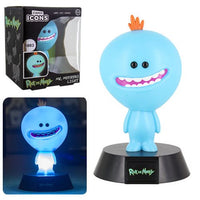 mononoperu,Rick and Morty - Lámpara de Mesa de Noche de Mr Meeseeks,Monono,.