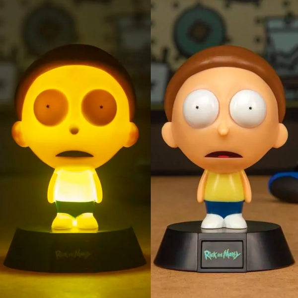 mononoperu,Rick and Morty - Lámpara de Mesa de Noche de Morty,Monono,.