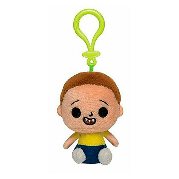 Rick and Morty - Llavero Peluche de Morty