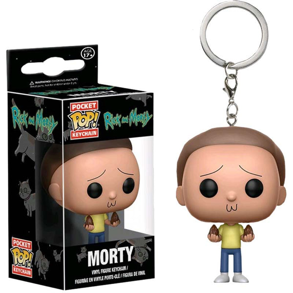 Rick and Morty - Llavero Funko de Morty-Rick and Morty-Monono-Peru