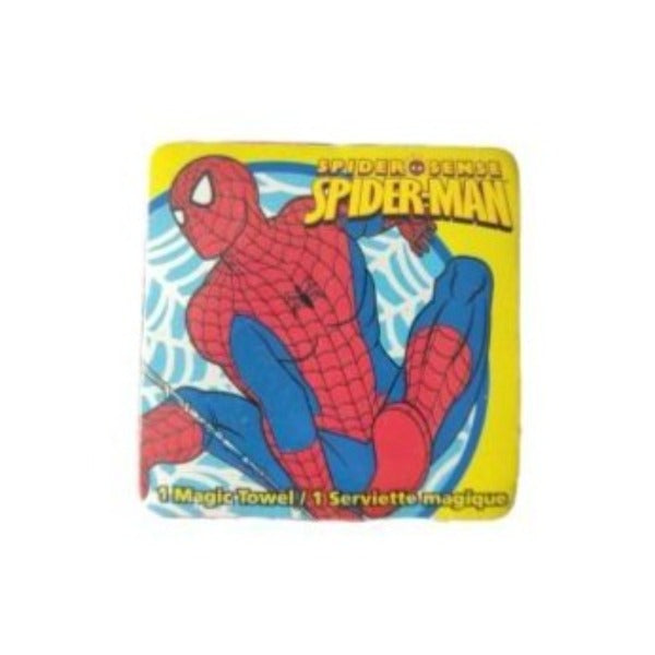 Marvel - Toalla Magica Spiderman Amarillo