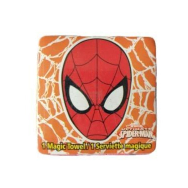 Marvel - Toalla Magica Spiderman Face Naranja