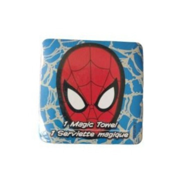 Marvel - Toalla Magica Spiderman Face Azul