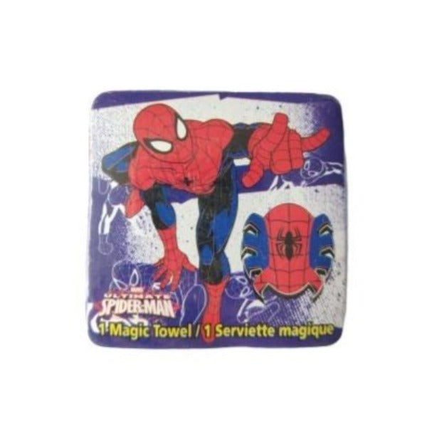 Marvel - Toalla Magica Ultimate Spiderman Morado